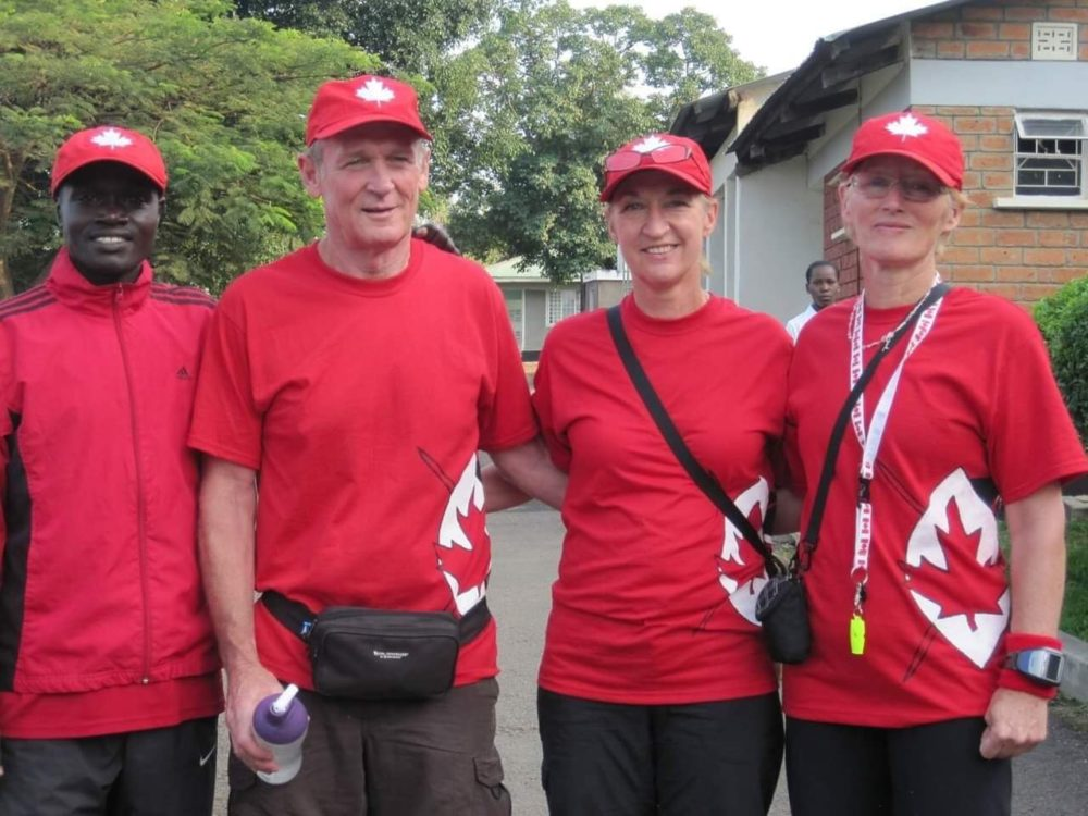 CES Team for Kenya Canada Day Run