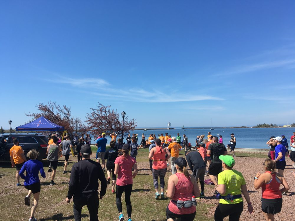 Pre Race Warm Up Voyage North Race Grand Marais Minnesota