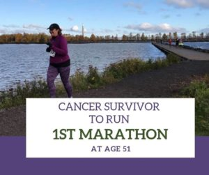 Cancer Survivor to Run First Marathon at 51