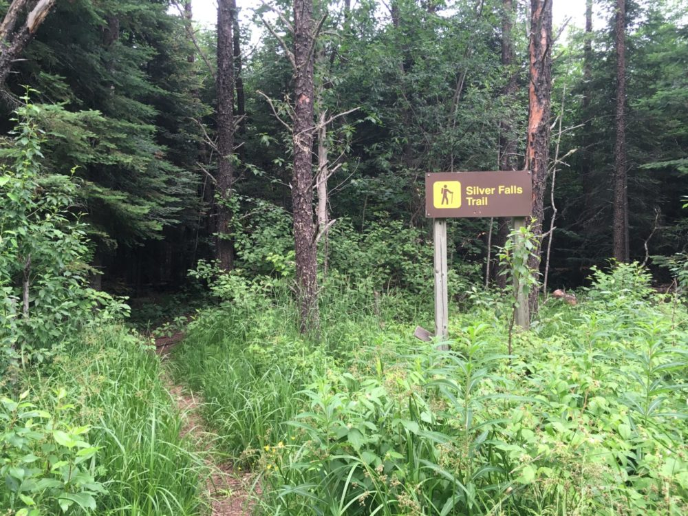 Silver Falls Trail Ontario Canada