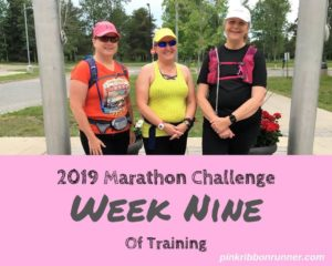 Marathon Training: Week Nine