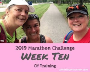 Marathon Training: Week Ten