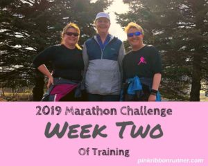 Marathon Training: Week Two