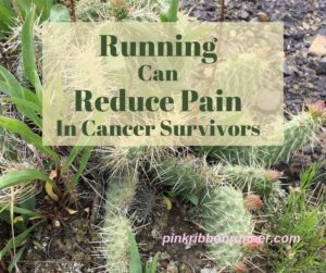 Running Can Reduce Pain in Cancer Survivors