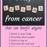 Cancer survivor story about healthy and clean living