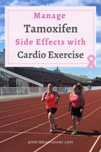 Tamoxifen and benefits of running, cycling, swimming, hiking, fitness, workouts