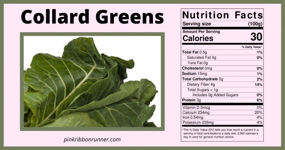 Collard Greens Nutrition Facts
