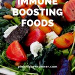 Immune boosting nutrients in foods