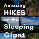 Hiking at Sleeping Giant Provincial Park, Thunder Bay, Ontario