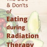 What to Eat during Cancer Radiotherapy